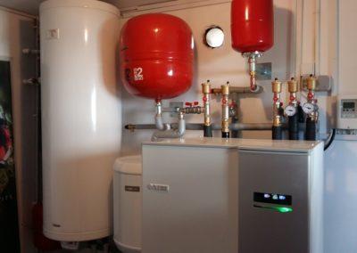 pompa de caldura NIBE F1155 cu racire