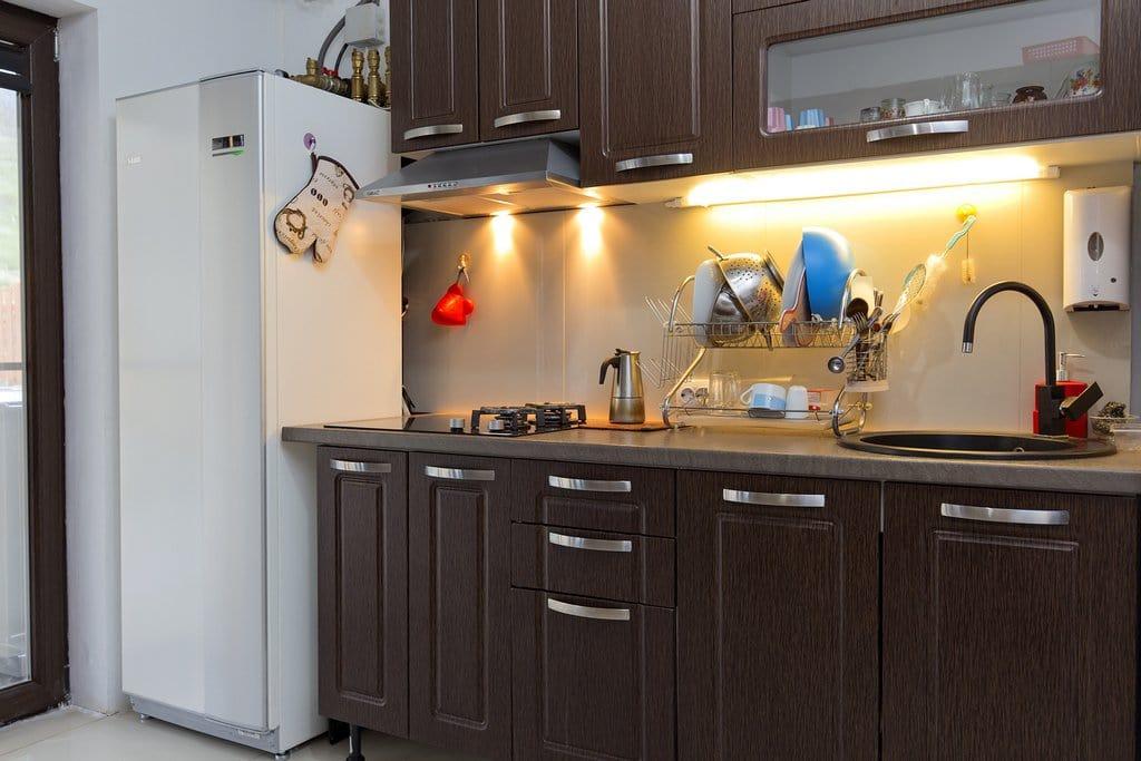 pompa de caldura in bucatarie