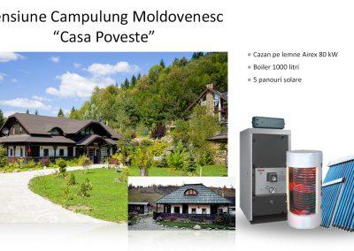 Campulung Moldovenesc - Pensiunea Casa Poveste