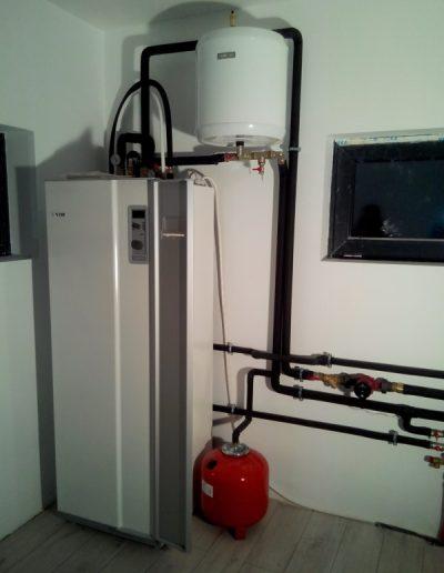 pompa de caldura nibe AMS10-8 si ACVM 270