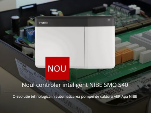 Noul controler inteligent NIBE SMO S40