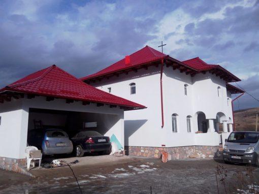 Pompa de caldura la casa parohiala in zona montana