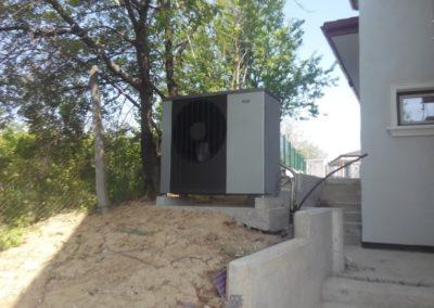Pompe de caldura aer apa NIBE