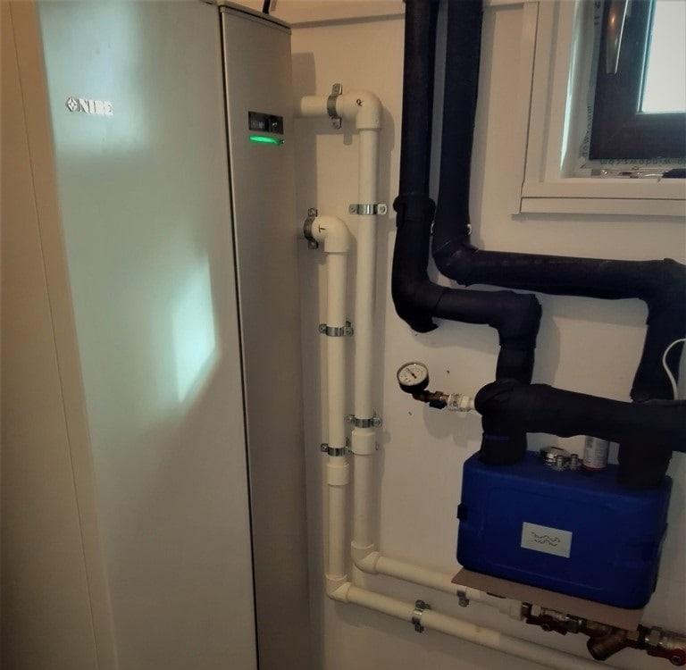 Pompa de caldura NIBE incalzire cu apa din put