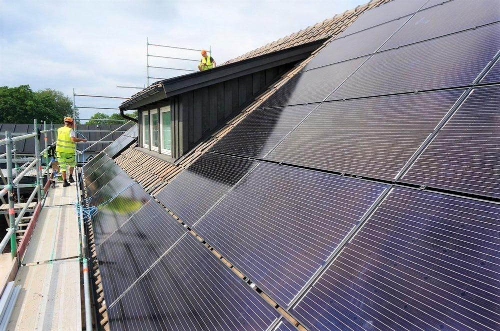 panouri solare fotovoltaice nibe