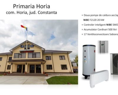 Primaria Horia + Constanta + 2xF2120-20
